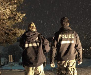Une nuit avec la police